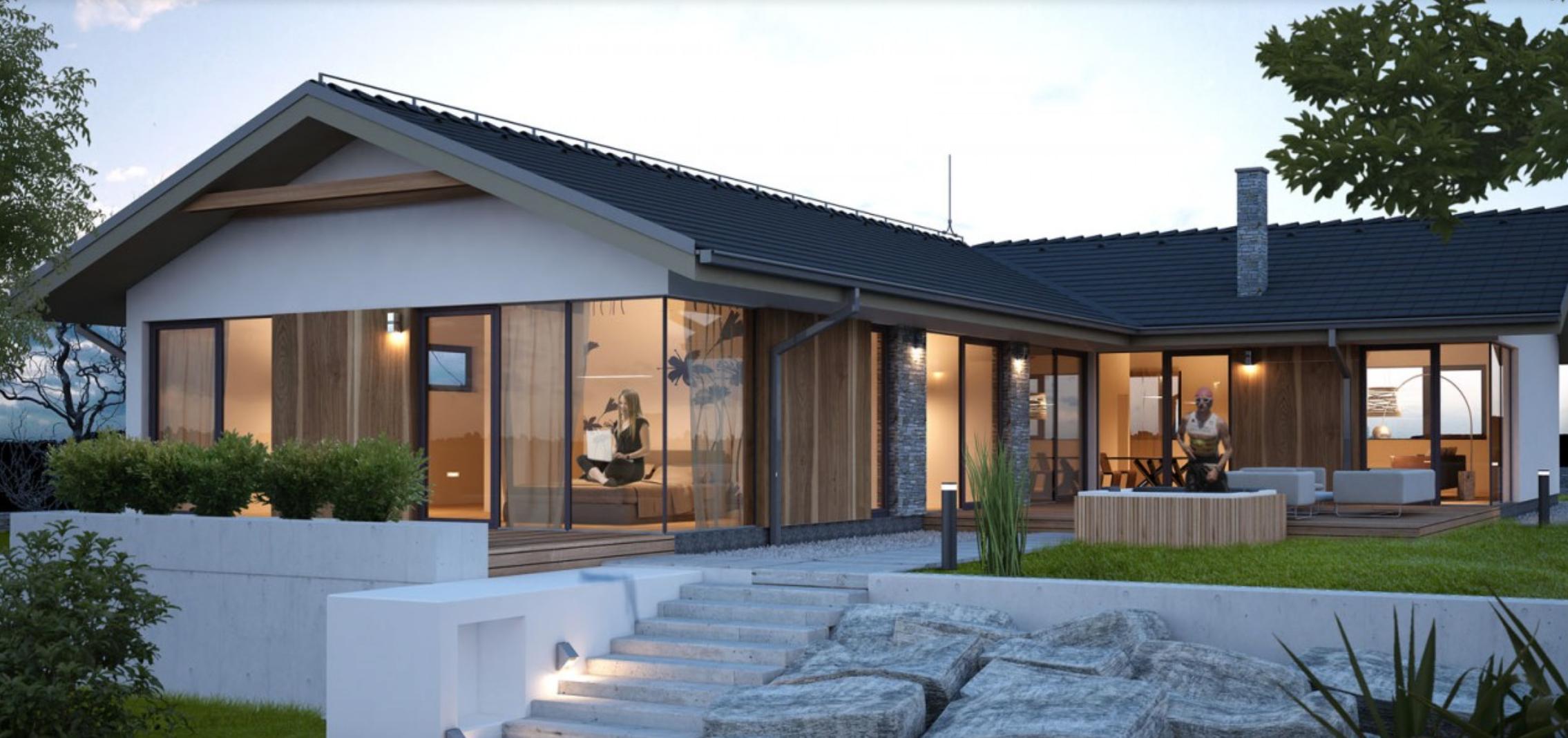 Ponuka Projektov Domov Keramické Montované Domy Anvik